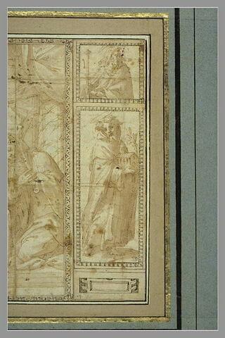 Saint Dominique et saint Jacques le Majeur