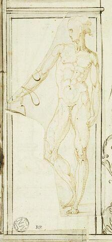 Figure d'homme nu, vu de face