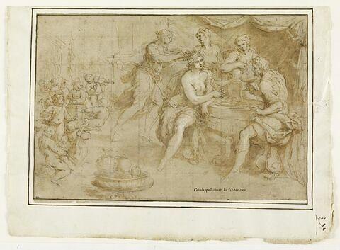 Le Banquet de Vénus et Mars servis par les Grâces