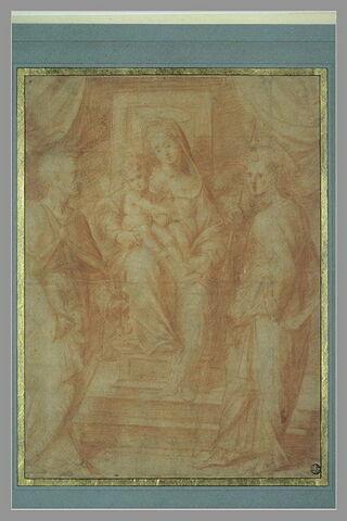 La Vierge à l'Enfant avec saint Jacques et saint Pierre
