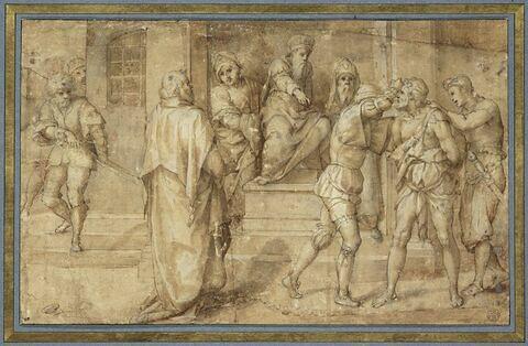 L'arrestation de saint Jean-Baptiste sur l'ordre d'Hérode