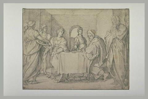Salomé apportant à Hérode la tête de saint Jean-Baptiste