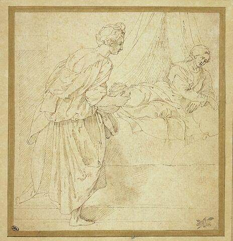 Sainte Elisabeth et sa servante