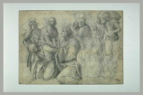 Benjamin et ses frères aux pieds de Joseph