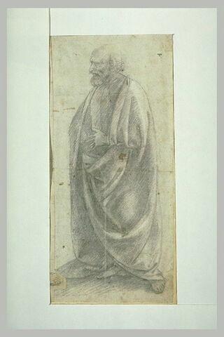 Un saint debout : saint Joseph (?)