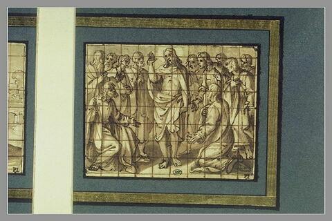 Le Christ montrant ses plaies à Thomas