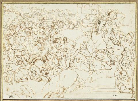 Le triomphe de Godefroy de Bouillon et la reddition d'Altamore