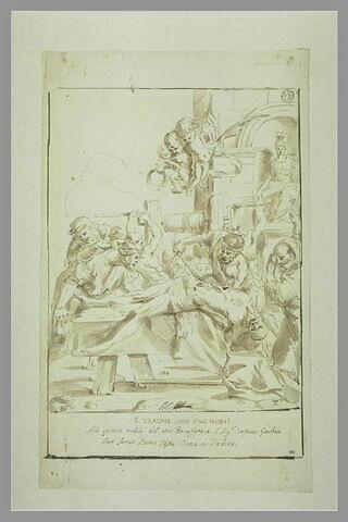 Le martyre de saint Erasme