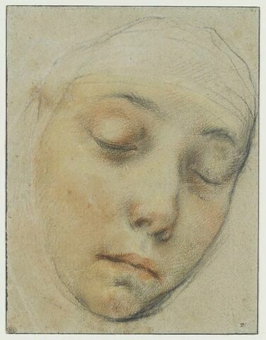 Portrait de la religieuse siennoise Pasitea Crogi
