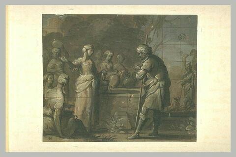 Rébecca et Eliézer à la fontaine