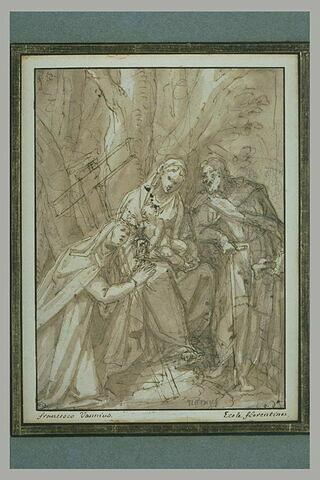 La Sainte Famille et sainte Thérèse