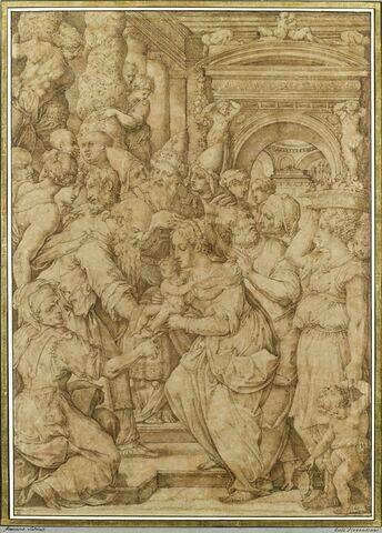 La présentation de Jesus au Temple dit 'la Purification de la Vierge'