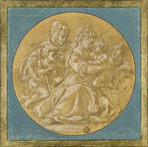 Sainte Famille avec saint Jean-Baptiste et sainte Elisabeth