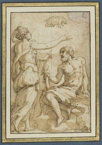 Junon, Jupiter et Callisto changée en Ourse