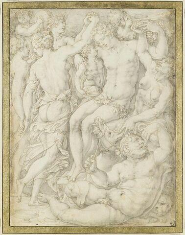 Bacchanale : Bacchus, Silène, Faunes et Ménades