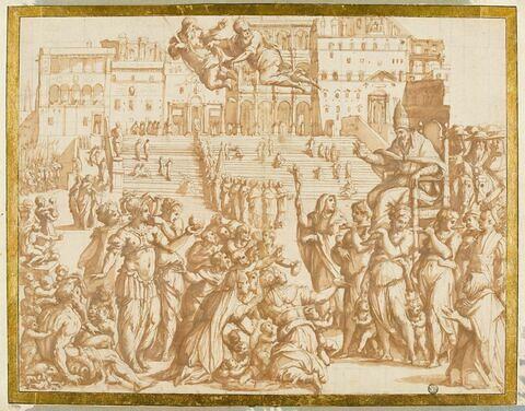 Entrée à Rome du Pape Grégoire XI