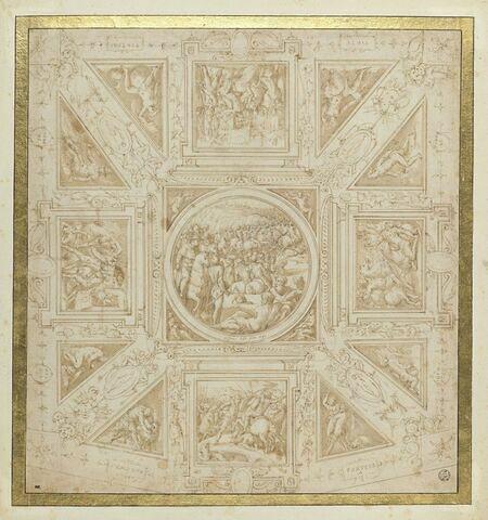 Etude de plafond pour la salle de Giovanni de' Medici