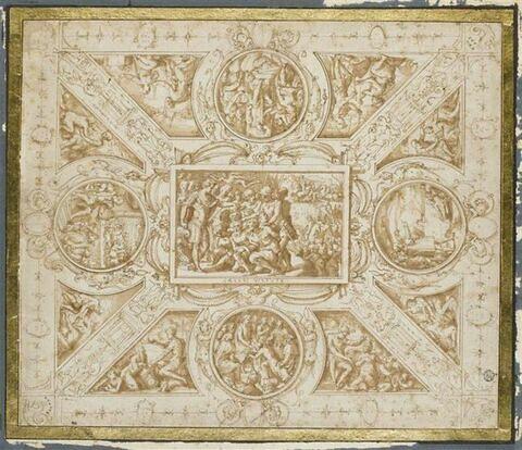 Etude de plafond pour la salle de Cosimo I