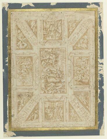 Etude de plafond pour la Sala di Cosimo il Vecchio au Palazzo Vecchio