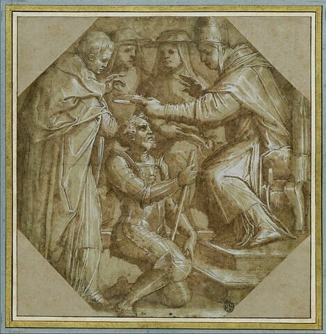 Léon X crée Lorenzo de' Medici duc d'Urbino