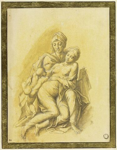 La Vierge à l'Enfant et sainte Anne