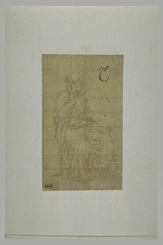 Etude pour sainte Anne (?)
