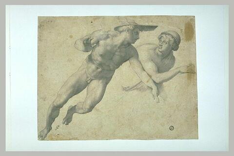 Mercure et Minerve remettant le bouclier à Persée
