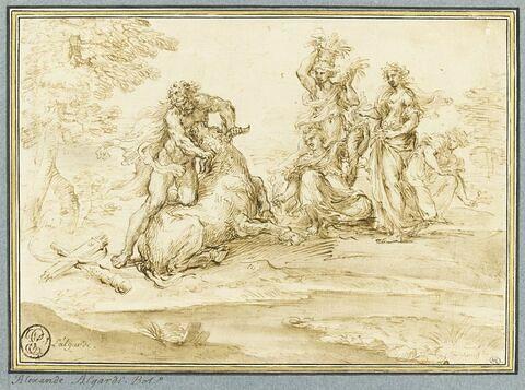 Combat d'Achéloüs et d'Hercule