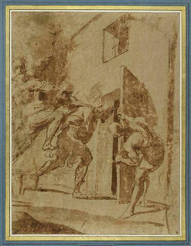 Saint Roch jeté en prison