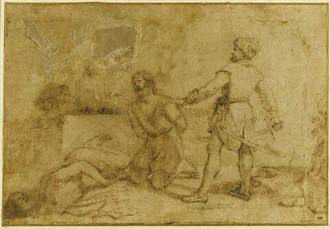 Décollation de deux saints : martyre de saint Jacques et de Josias (?)