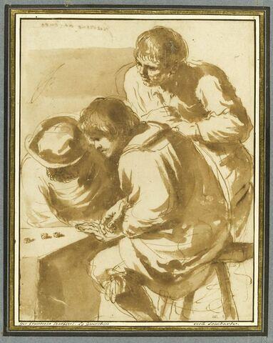 Trois joueurs de dés