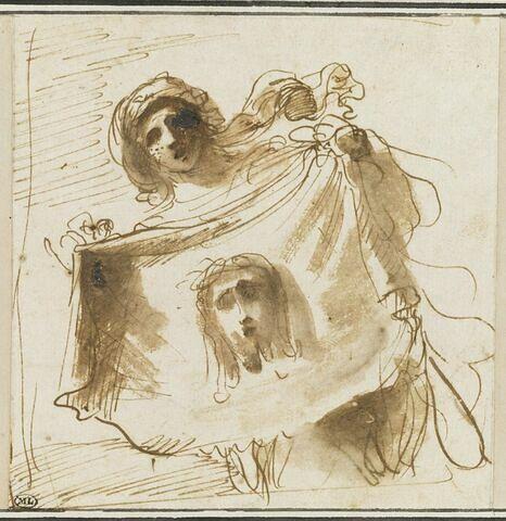 Sainte Véronique présente la Sainte Face