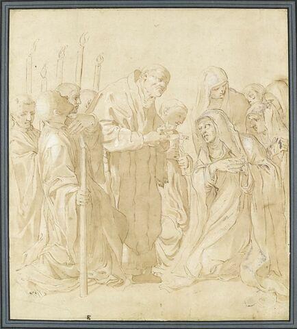 La Dernière Communion d'une religieuse