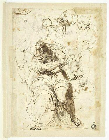 Le prophète Isaïe, femme et enfants d'après Raphaël