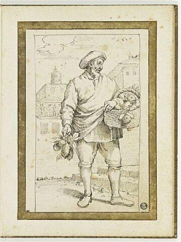 Marchand de fruits : Melangoli, e limoni