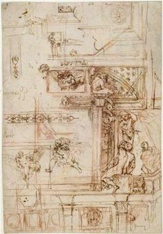 Projet de décoration pour la galerie Farnèse