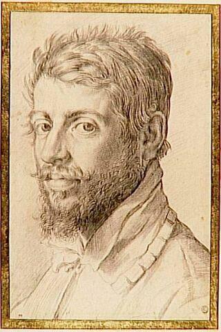 Portrait d'homme de trois quarts