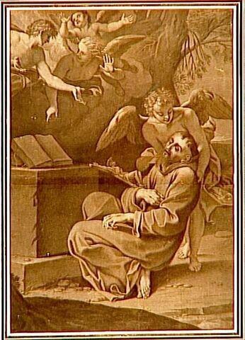 Saint François d'Assise secouru par les anges