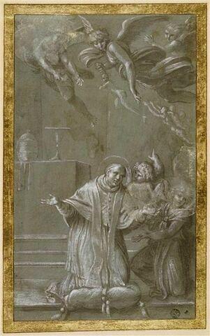 Le Pape saint Grégoire tirant des âmes du purgatoire par ses prières