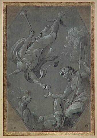 Mercure remettant la pomme d'or au berger Pâris