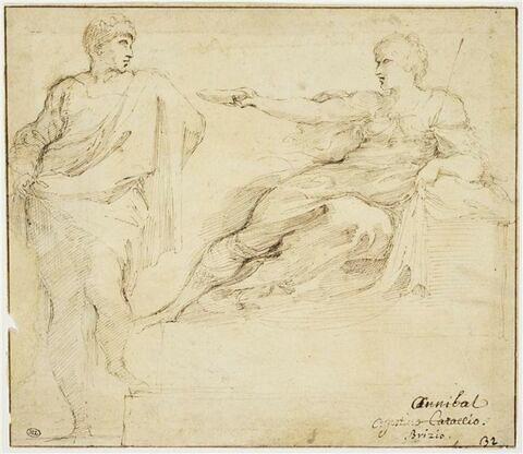 Circé tendant une coupe à Ulysse