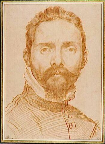 Portrait d'Annibale Carracci, vu de face