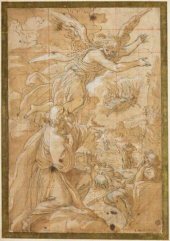 L'apparition de l'ange à Joachim et la rencontre à la porte Dorée