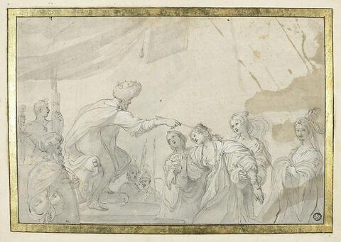 Esther devant Assuérus