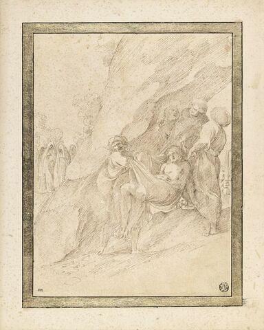 Le Christ porté au tombeau
