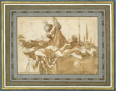 Saint Sébastien jeté dans la 'Cloaca Maxima'