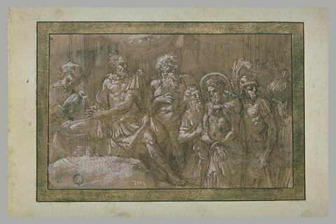 Pilate se lavant les mains