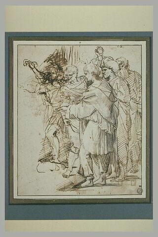 Bourreaux de la lapidation de saint Etienne