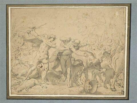 Rémus et les voleurs de troupeaux
