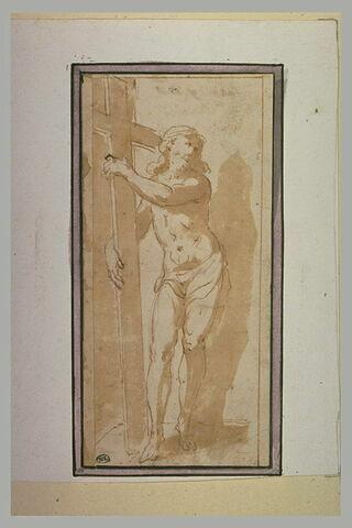 Le Christ tenant la Croix
